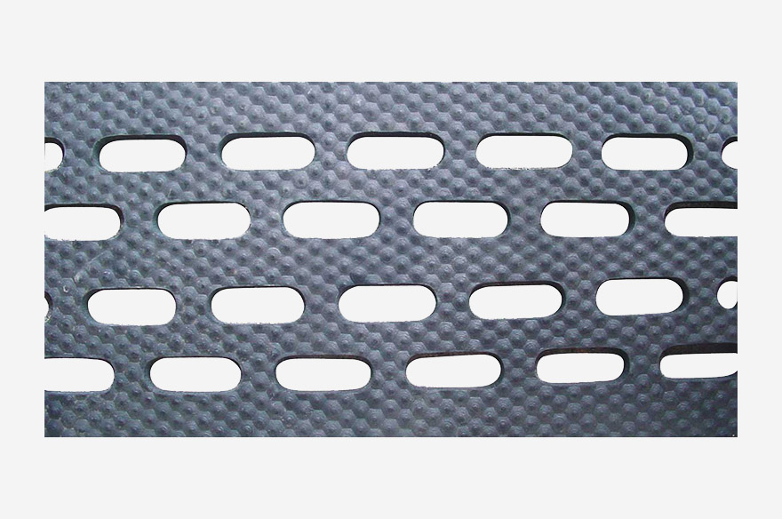 Pig Mat With Eliptical Holes