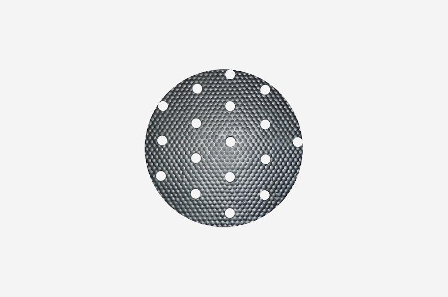 Pig Mat Roll With Circular Holes